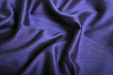 """SATIN BACKED FAUX DUPION RAW SILK 100% POLYESTER FABRIC 44"""" M299"""