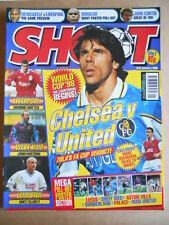 SHOOT Magazine 03-01-1998 Gianfranco Zola - Poster Ronaldo Inter  [P63]