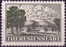 GERMANIA - III° REICH - BOEMIA E MORAVIA - THERESIENSTADT - 1943 - FRANCHIGIA