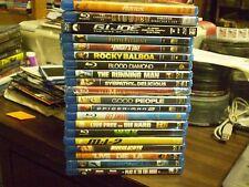 (20) Action Blu-Ray Lot: Hercules Riddick GI Joe Running Man Die Hard MI:2  MORE