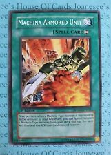 Machina Armored Unit SDMM-EN021 Common Yu-Gi-Oh Card 1st Edition New