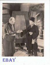 Rudolph Valentino Mack Swain VINTAGE Photo
