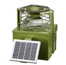 Wildfutterautomat Futterautomat digitale Uhr Wild Schwein 12V metal + Solarpanel