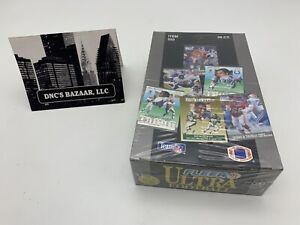 1991 Fleer Ultra Football Trading Cards Factory Sealed Box