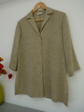 Lovely Gerry Weber Light Green Weave Hip Length Shirt Size 12, GC