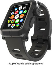 LUNATIK EPIK Polycarbonate Case Silicone Strap for Apple Watch Series 1 Blk Read
