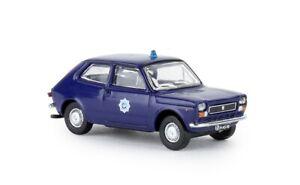 Brekina 22505 - 1/87 Fiat 127 - Politie (NL) - Neu