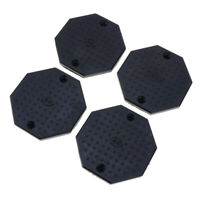 4 in 1 Auto Lift/Rolling Jack Rubber Block Pad Adapter for Car Auto Truck Hoist