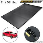 5Ft Short Bed Fit For 2016-2021 Toyota Tacoma Tri-fold Lock Hard Tonneau Cover