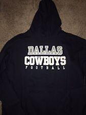 Dallas Cowboys Navy Blue Practice Player Coach Pullover Hoodie Sweatshirt XXL