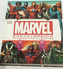 Marvel Encyclopedia The Definitive Guide Updated And Expanded DK 2014 Hardback