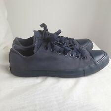 Men's all Blue converse Size 9