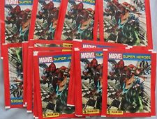 Italy 2017 Panini Marvel Super Heroes 50x Sticker Pack