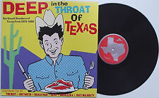 V/A - Deep In The Throat Of Texas LP Really Red AK47 Dot Vaeth Uncalled 4 Punk