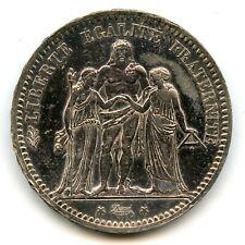 Genuine Silver 1873-A France 5 Francs | AU Condition