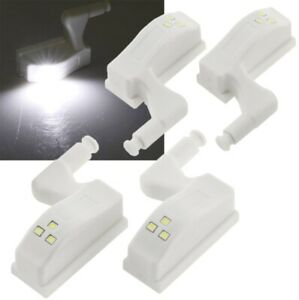 LED Schrankleuchte Schubladen leuchte Wohnmobile  Schrank licht, 4er-Set Batteri