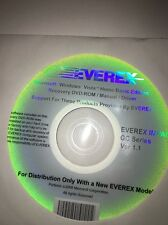 Everex Microsoft Windows Vista Home Basic Edition Recovery DVD-ROM/Manual/Driver