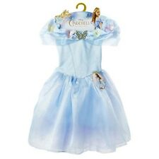 Disney Cinderella Princess Ella's Blue Costume Dress Girls Size 4-6X Age 3+