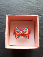 Brand new childs red butterfly ring size K! Perfect gift! Fine jewellery!