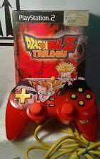 Dragon Ball Z: Trilogy - PS2 - (Sony PlayStation 2, 2006) w/Dragonball Control