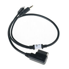 AMI MDI MMI Mini 3.5mm AUX Kabel adaptor for iPod iPhone 4S 5 6 Audi A3 A8 Q5 HY