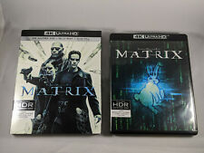 The Matrix 4K Ultra HD Blu-ray with Slipcover