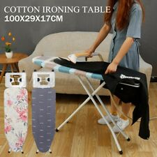 Adjustable Height Ironing Board Table Stand Folding Portable Space Saving