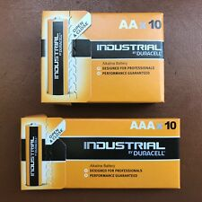 10 x AA and 10 x AAA Duracell Industrial Alkaline Batteries Procell Expiry 2024