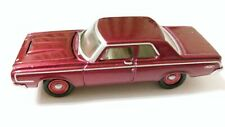 Johnny Lightning Gold Series R4 1964 Dodge 330 red chassis