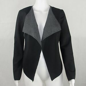 Simply Vere Wang Ladies Casual Waterfall Jacket Size Petite Small
