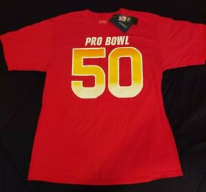 NWT - Pittsburgh Steelers Ryan Shazier 50 Pro Bowl Large T Shirt Mens Large Sz L