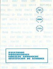 Pasatonos Progresiones Círculos Armonicos Sustitución de Acordes