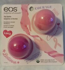 EOS Limited Edition 2 Pack Lip Balm -  Strawberry Sorbet + Wildberry