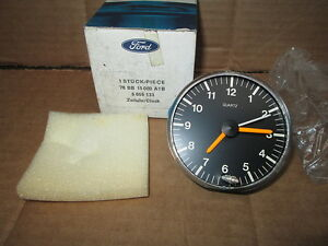 FORD CORTINA CLOCK GENUINE BOXED  78 BB 1500 AB NEW