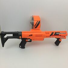 Nerf N-Strike Raider CS-35 (Orange and Black) With 35 Dart Drum & Shoulder Stock