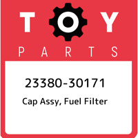 23380-30171 Toyota Cap assy, fuel filter 2338030171, New Genuine OEM Part