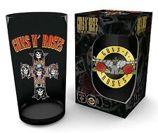 GUNS N ROSES - Logo - Premium Glas - Premium Coloured Pint Glass - 0,5 l - NEU