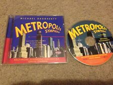 MICHAEL Daugherty Metropolis Symphony CD ARGO