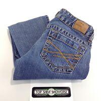 AEROPOSTALE Women's Size 00 Regular BAYLA SKINNY Medium Wash Blue Jeans EUC