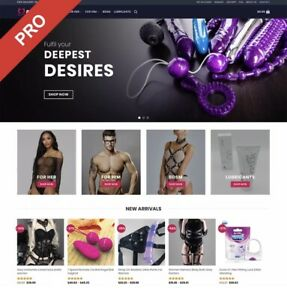 ADULT TOYS Premium Dropshipping E-commerce Website Business | FREE MARKETING