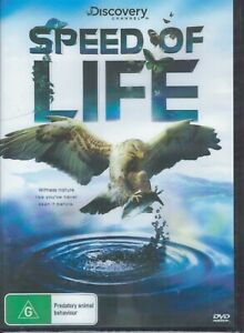 SPEED OF LIFE - A Discovery Channel DVD Region 4 NEW & SEALED Free Post