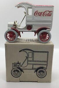 Rare ERTL 1/25 Scale Die-Cast COCA-COLA 1905 FORD DELIVERY TRUCK COIN BANK NIB