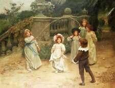 Children Playing Jump Rope by John Arthur Elsley