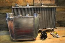 Aluminium Water To Air Intercooler Kit Drag Series 1 W/ Inline Filler Neck