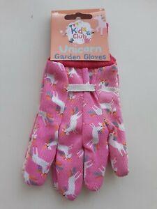 Childs Unicorn Gardening Gloves