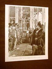 Re Umberto I e Margherita di Savoia in Sardegna nel 1899 Miniera di Monteponi