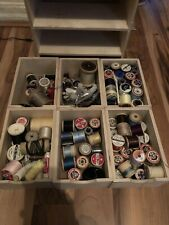 More details for wooden storage cabinet containing large amount of vintage cottons