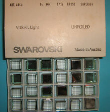 SWAROVSKI ® - 3 Pz  Cubo 4840-14 mm. Vitrail Light Original Superior Unfoiled