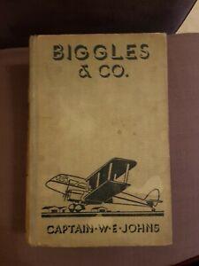 Biggles & Co 1936 W E Johns 1st Edition Oxford University Press