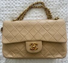 9e246e78be17 Leather CHANEL Classic Flap Bags & Women's Medium for sale | eBay